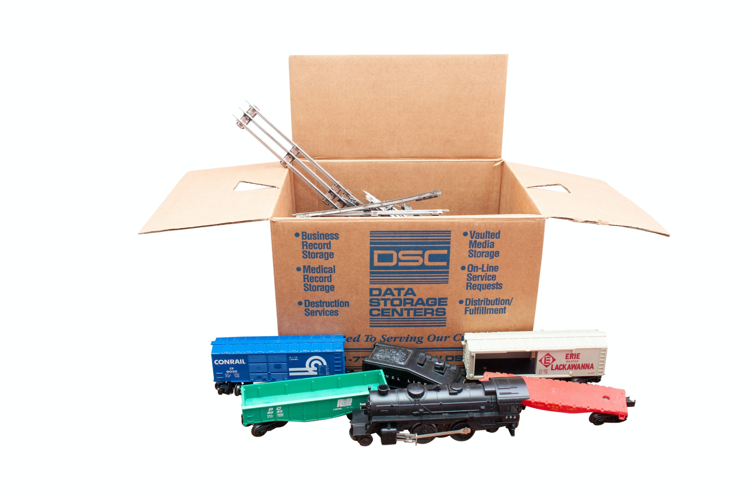 Lionel O Gauge Train Set with Tracks and Electric Transformer