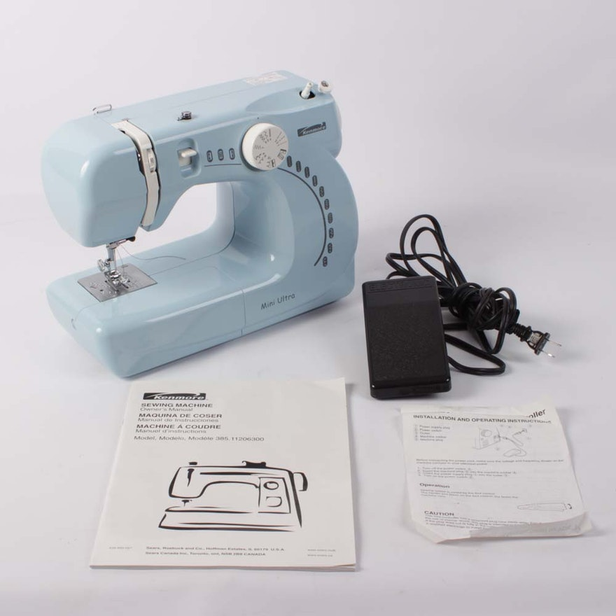 Kenmore Mini Ultra Sewing Machine EBTH Impressive Kenmore Ultra Mini Sewing Machine