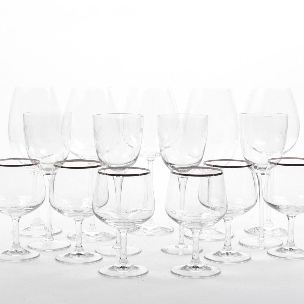 Stemware with Schott Ziesel Wine Glasses