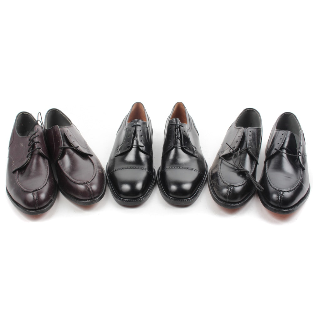 Florsheim and FootJoy Leather Dress Shoes