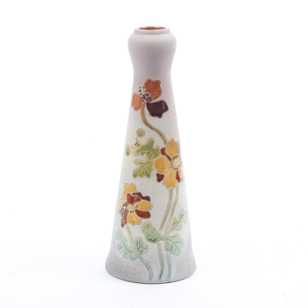 "Roseville Rozane Ware ""Woodland"" Art Pottery Vase"
