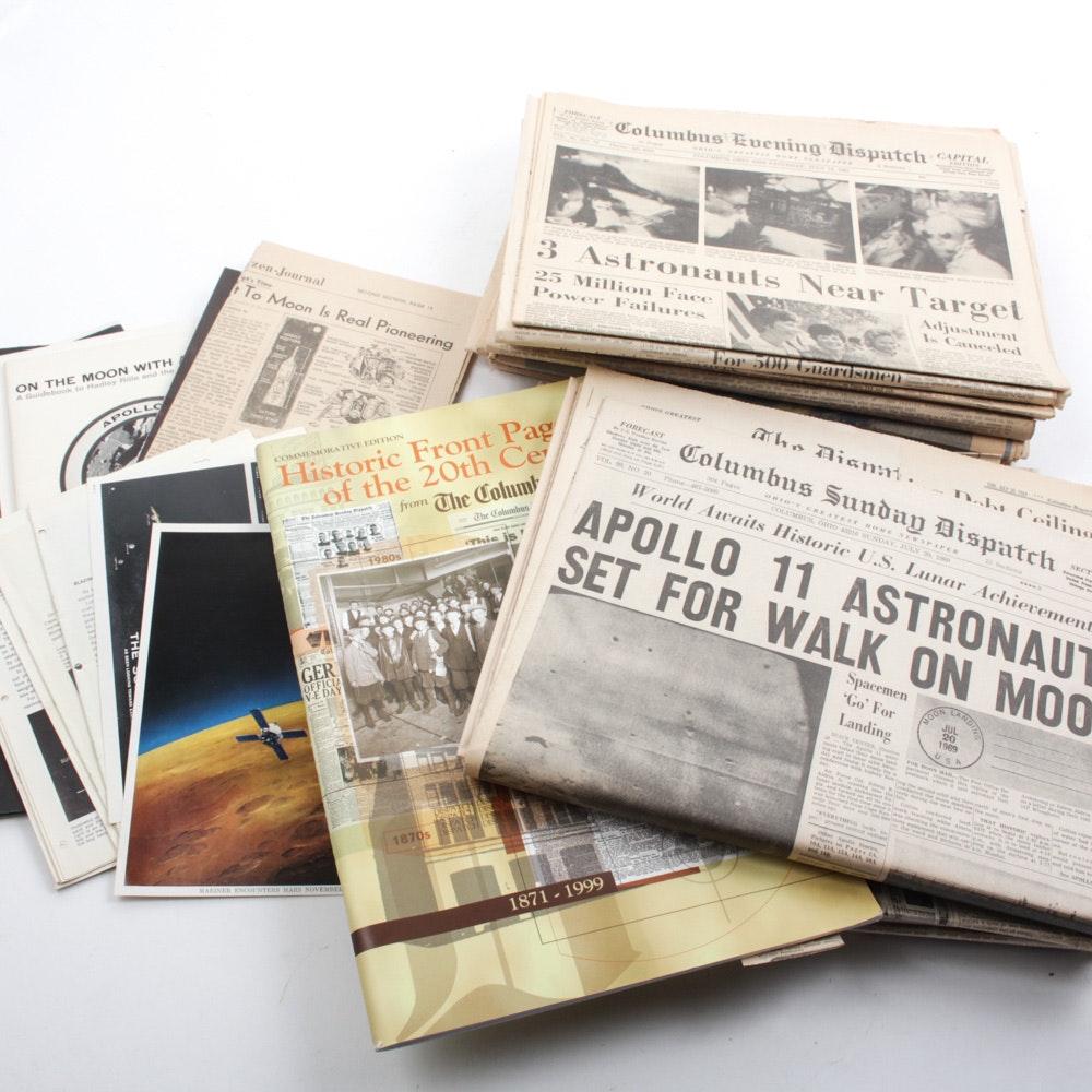 Vintage Apollo 11 and NASA Ephemera