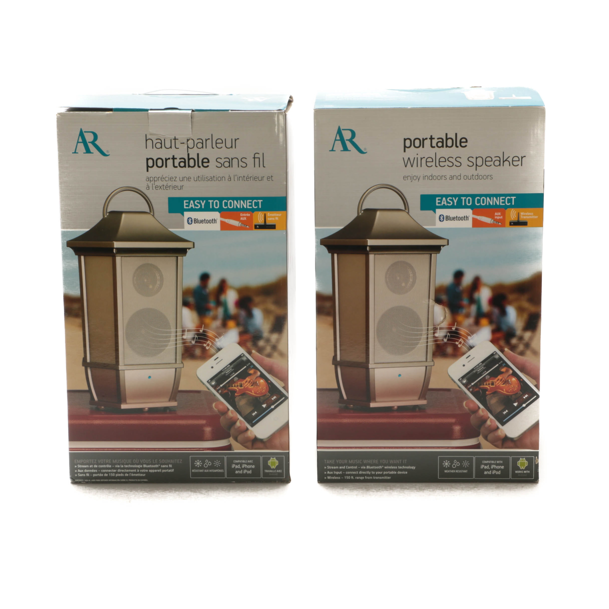 Pair of Acoustic Research Wireless Speakers