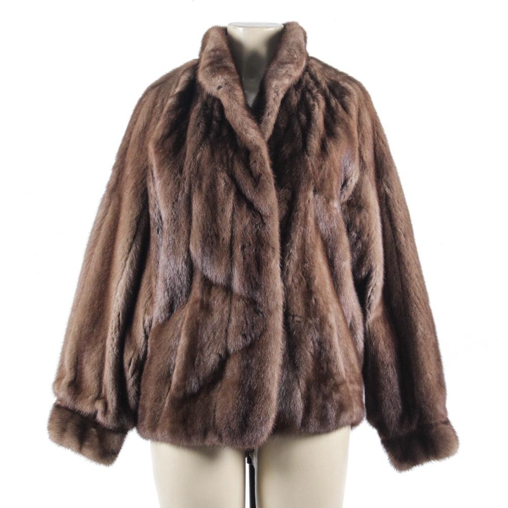 Vintage Wild Mink Fur Jacket