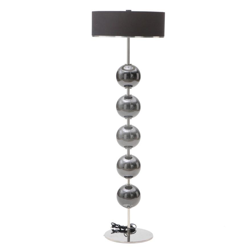 Contemporary Roche Bobois Mirror Ball Floor Lamp (Attributed) : EBTH