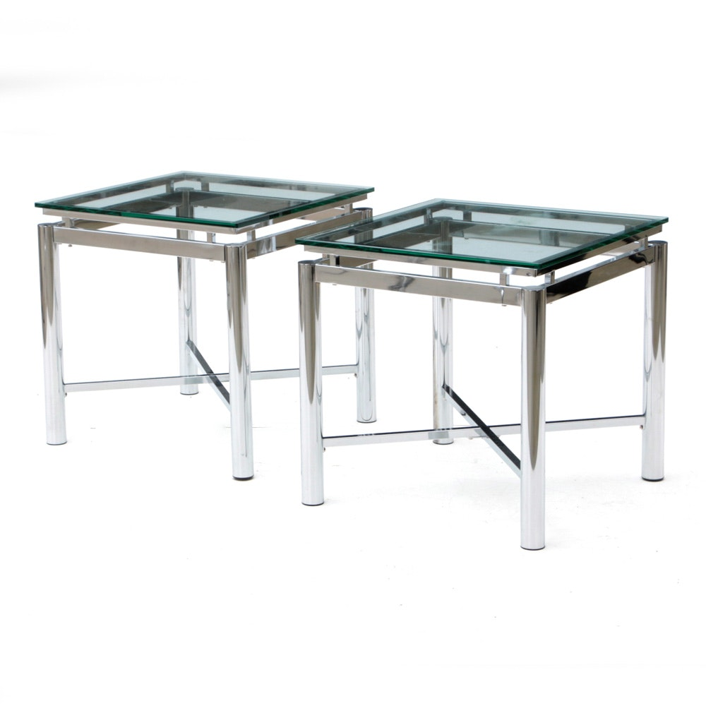 Pair of Modernist Coffee Tables