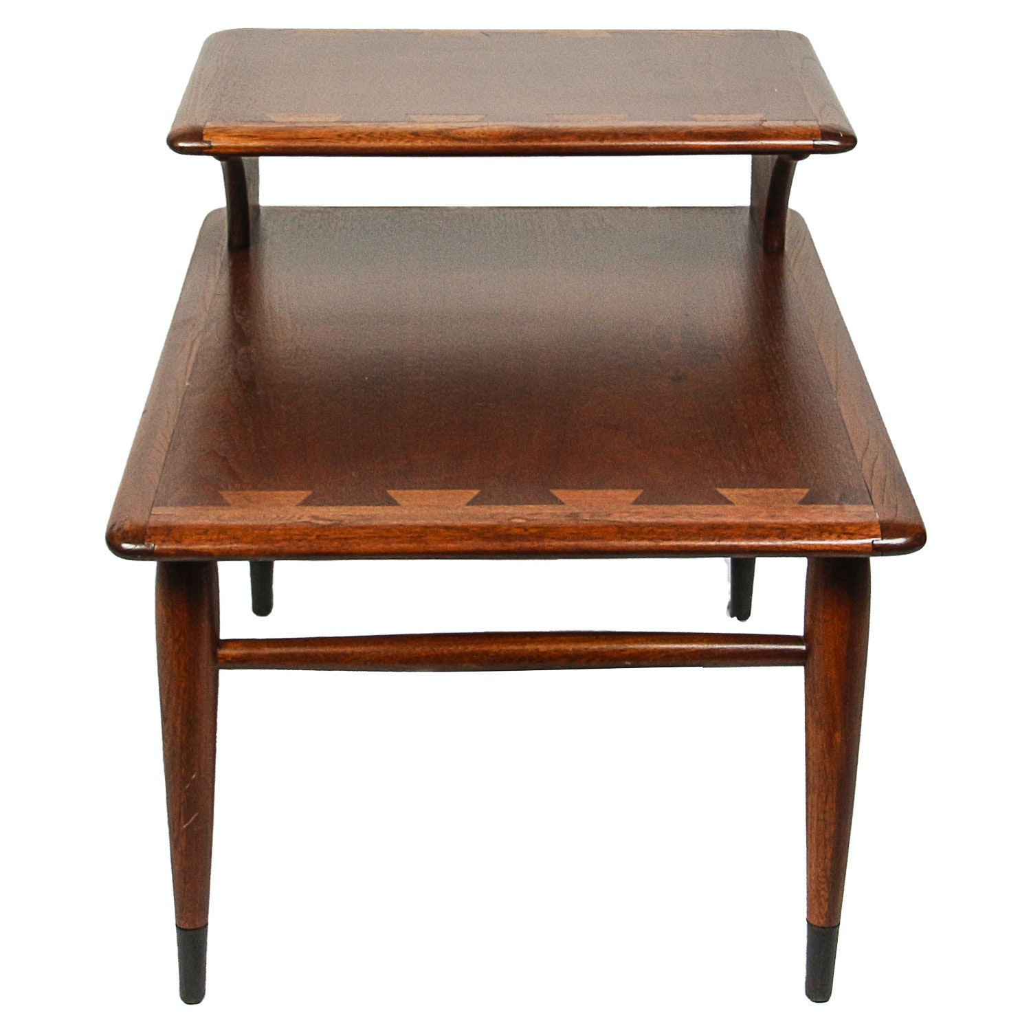 "Lane Mid Century Modern ""Acclaim"" Step-Back End Table"