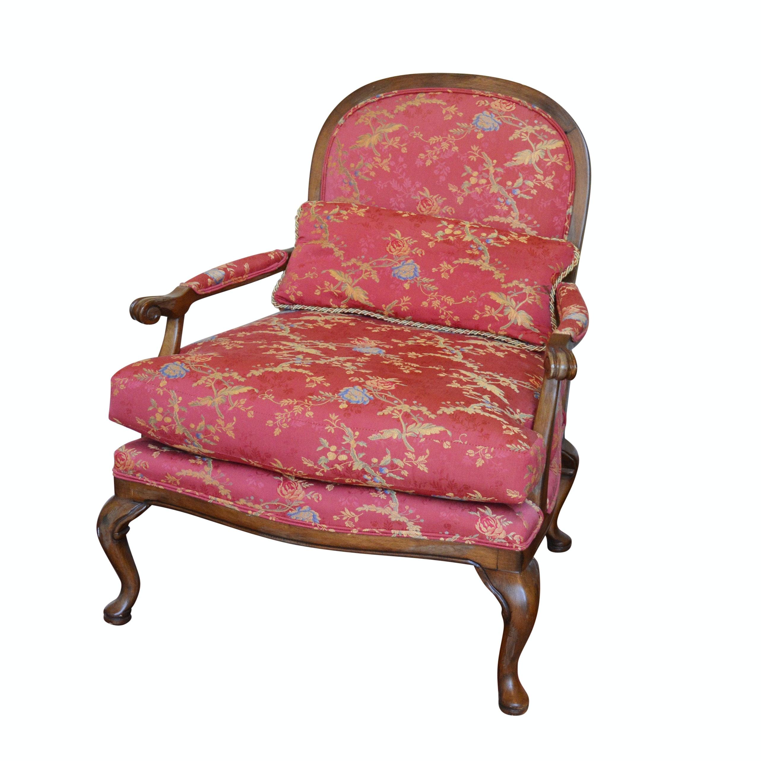 Lexington Red Upholstered Armchair