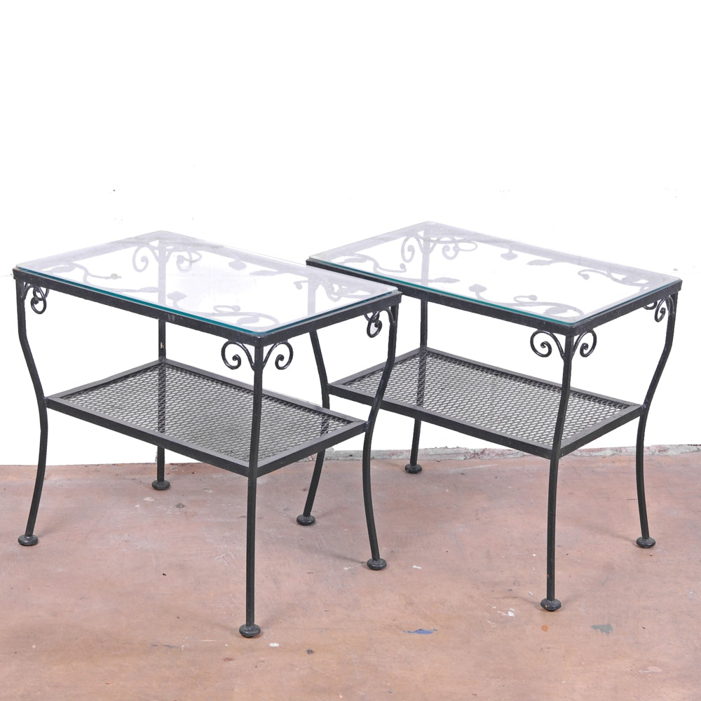 Glass Top Patio Tables