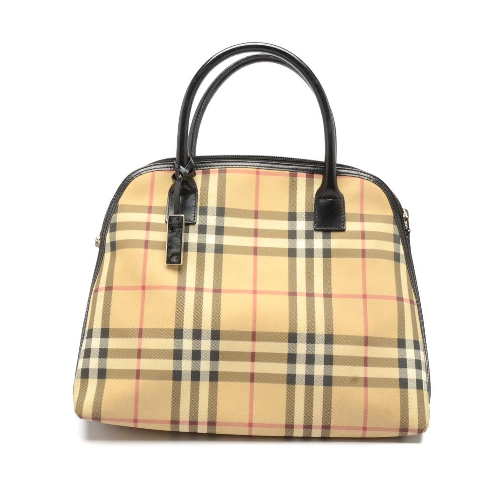 Burberry Classic Check Handbag