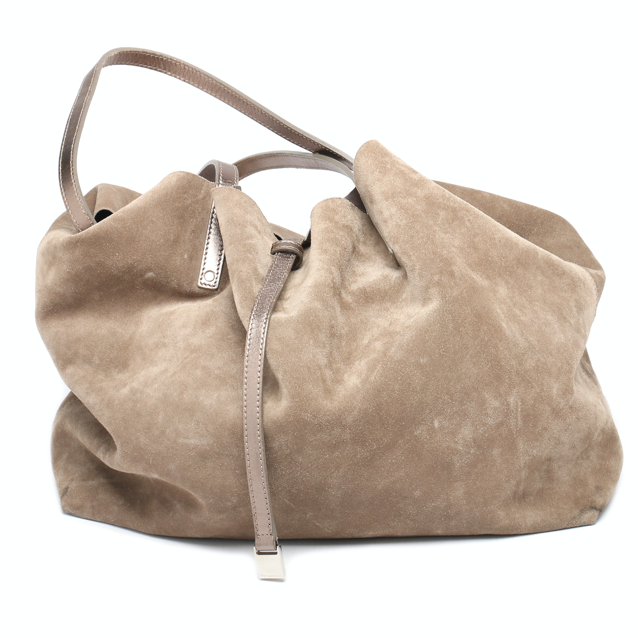 Tiffany & Co. Reversible Suede Tote