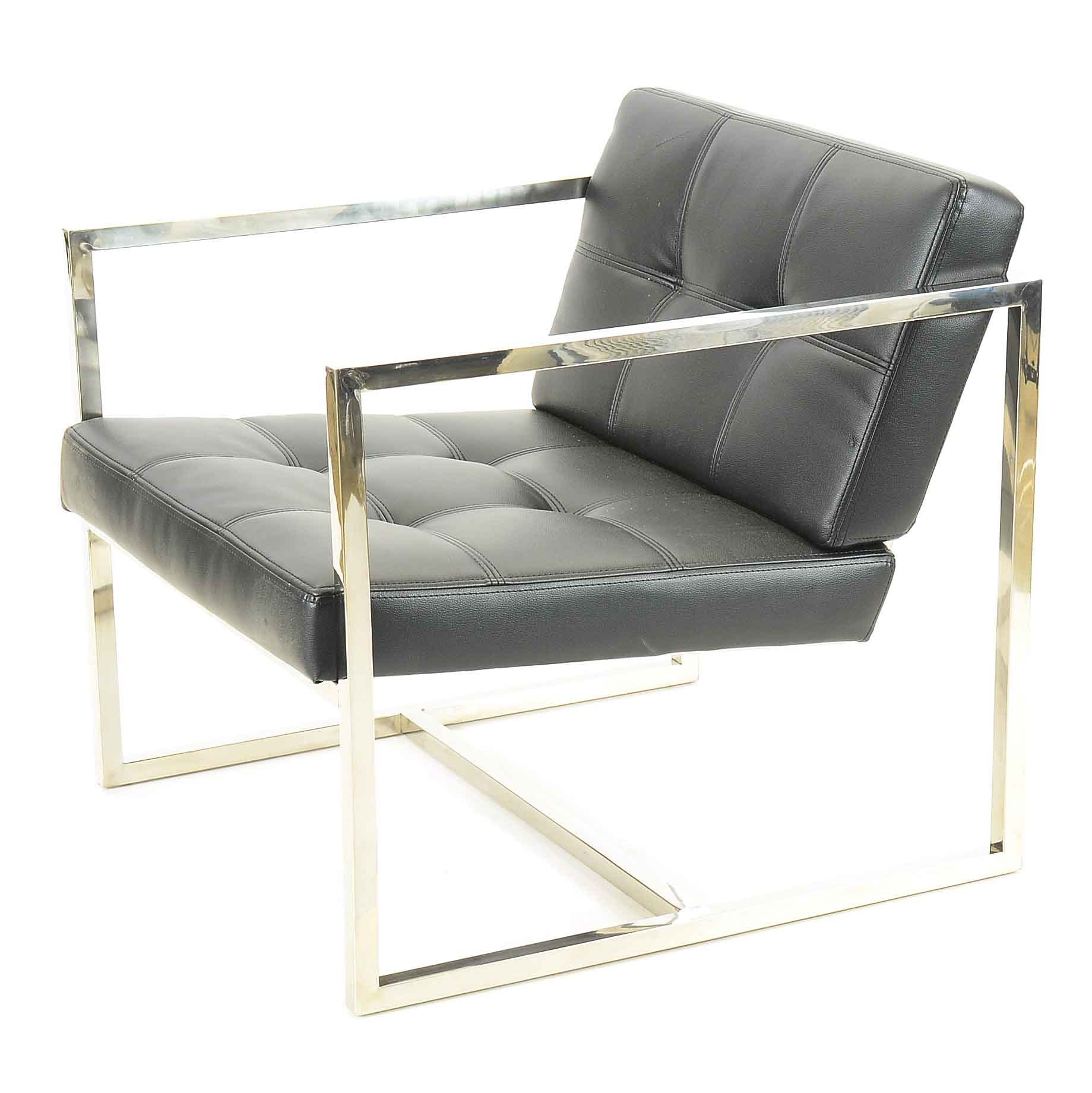 "Modernist ""Hover"" Lounge Chair by Modway"
