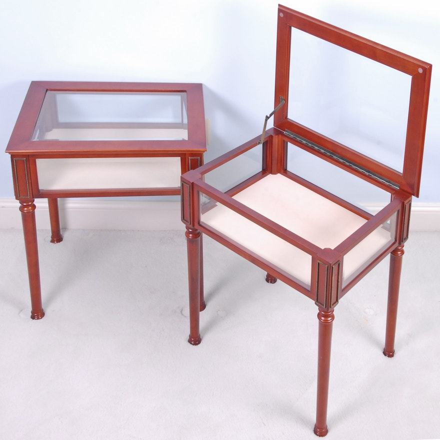 Phenomenal Vitrine Tables By The Bombay Company Beatyapartments Chair Design Images Beatyapartmentscom