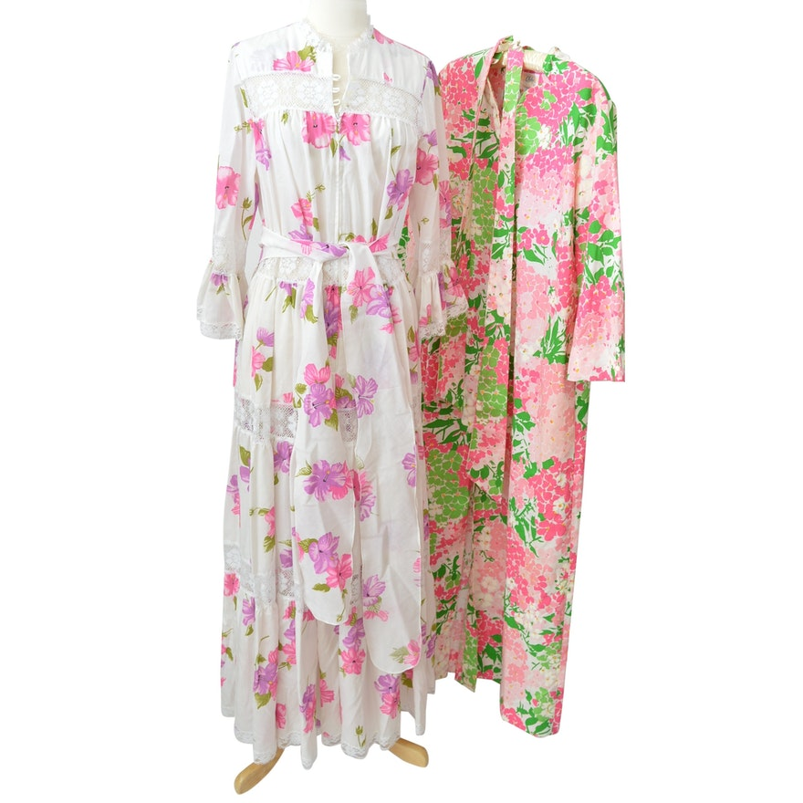 Womens Vintage Saks Fifth Avenue Caftan And Gown Ebth