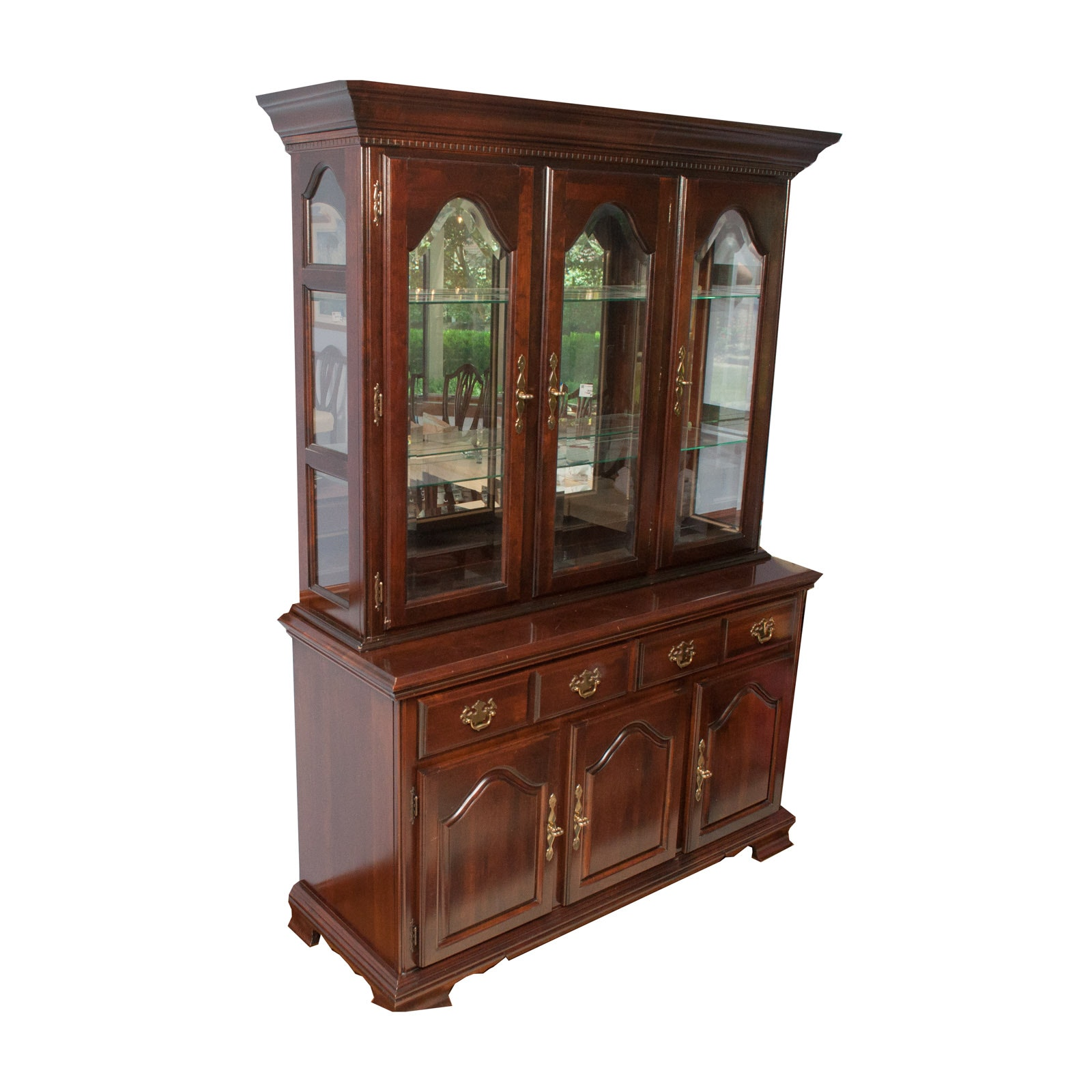 Kincaid Cherry China Cabinet