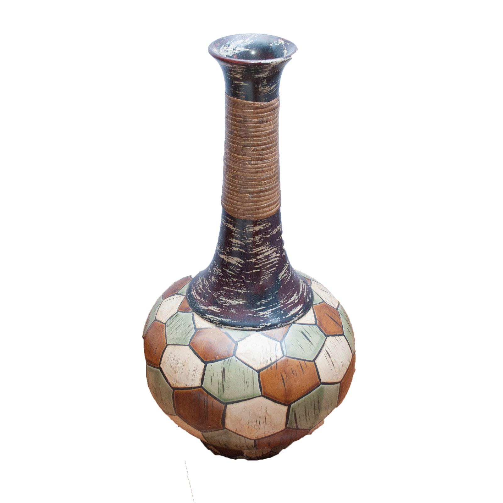 Ceramic Floor Standing Vessel