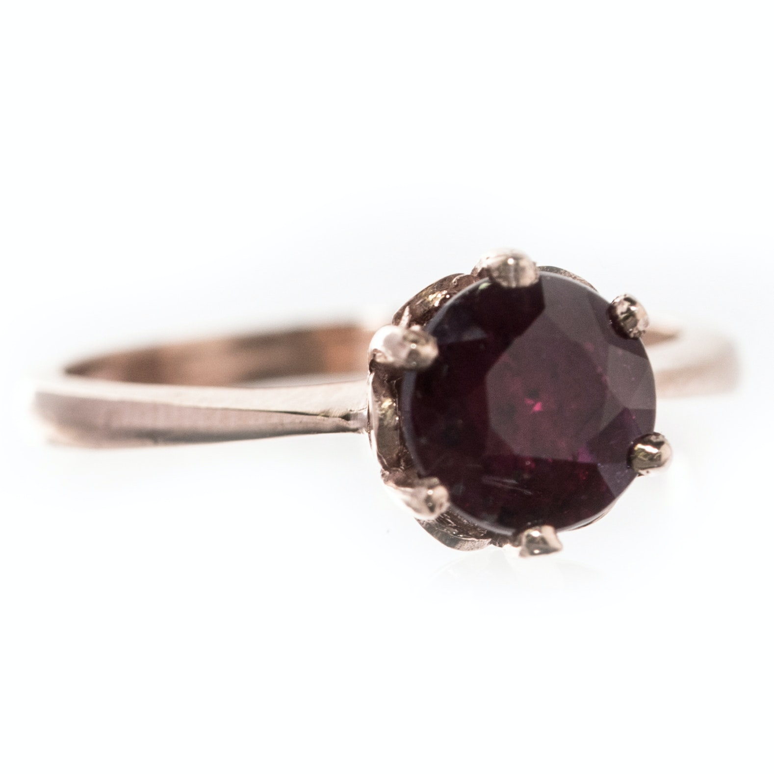 14K Rose Gold and 1.53 CT Ruby Ring