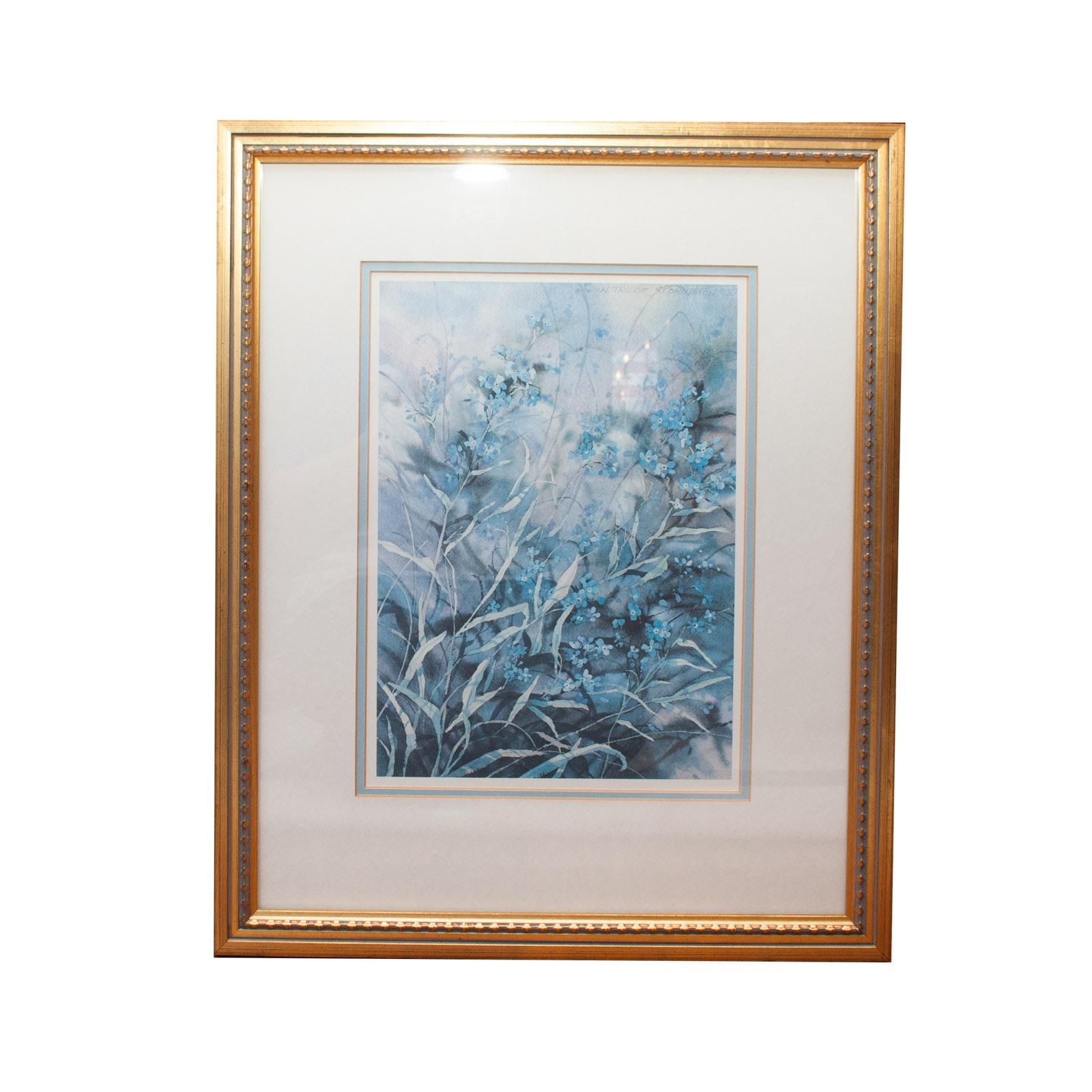 Signed N. Taylor Stonington Watercolor