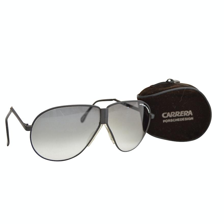 1da591e109 Vintage Porsche Carrera Folding Sunglasses with Soft Case   EBTH