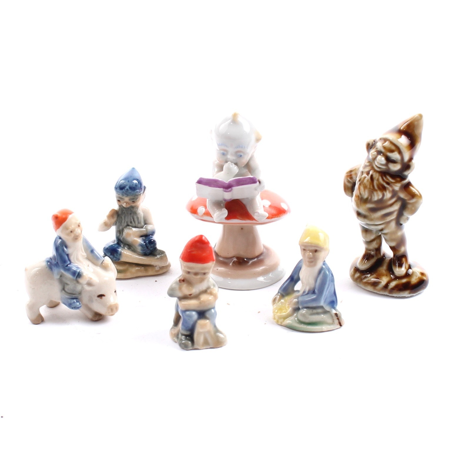 Diminutive Porcelain Dwarfs including Metzler & Ortloff