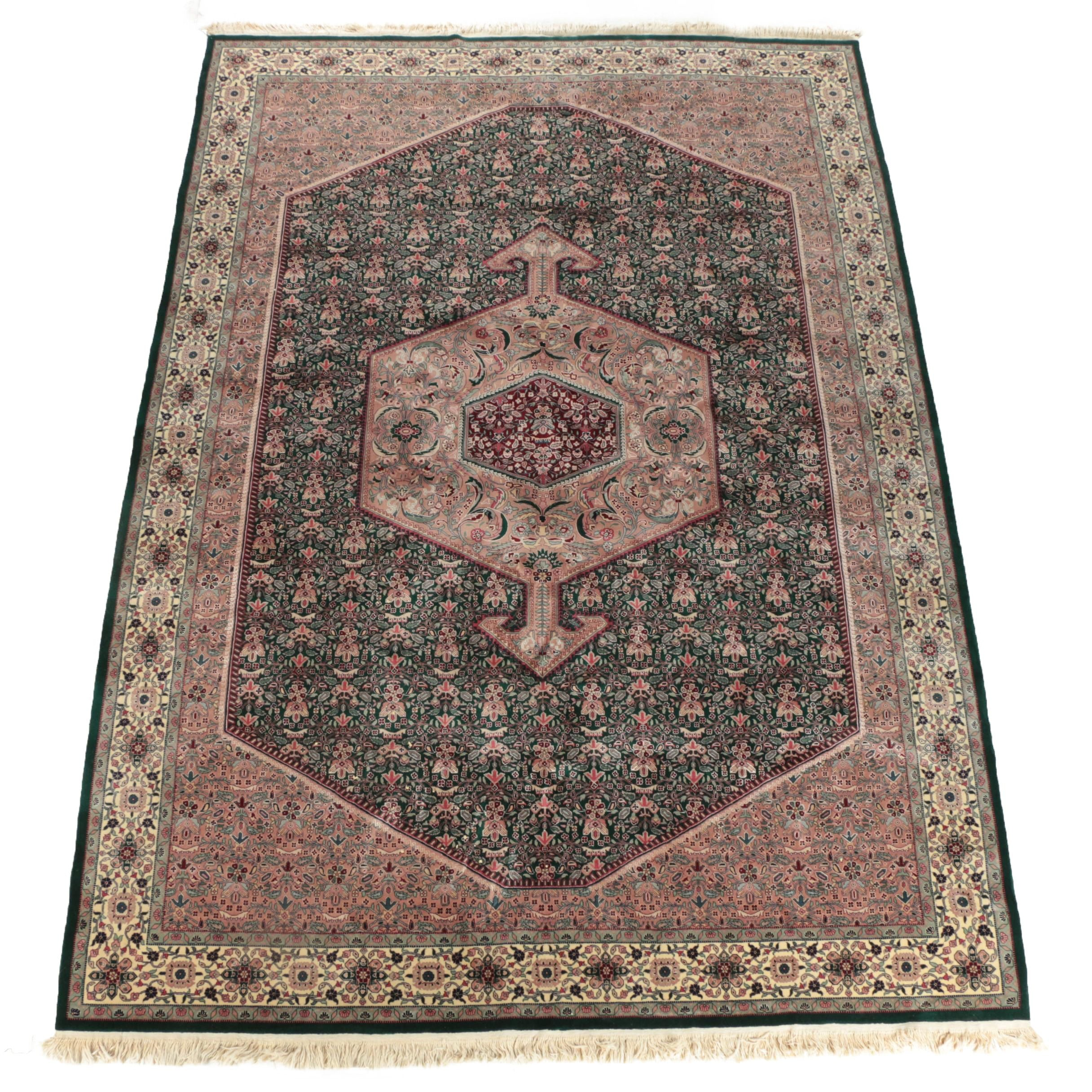 Hand-Knotted Sino-Persian Wool Room Sized Rug
