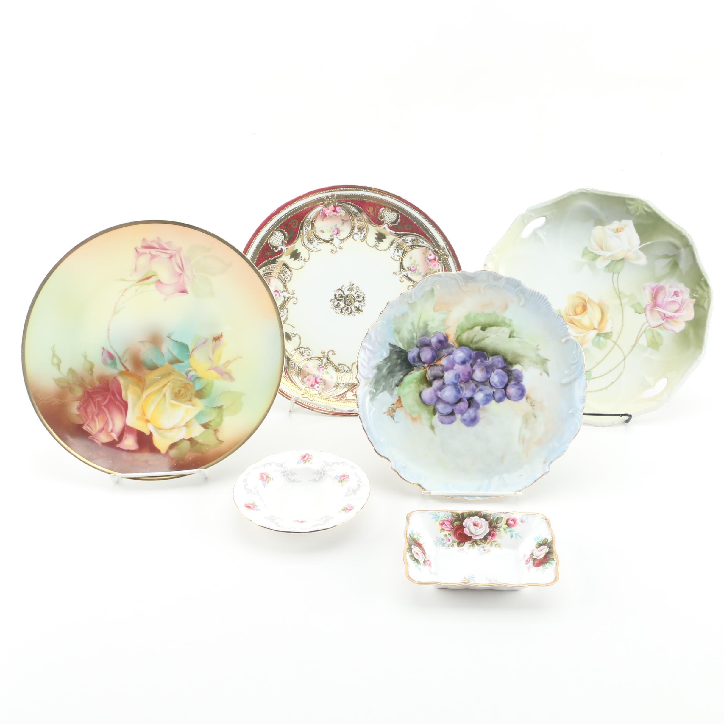 Vintage Porcelain Tableware Including RS Germany