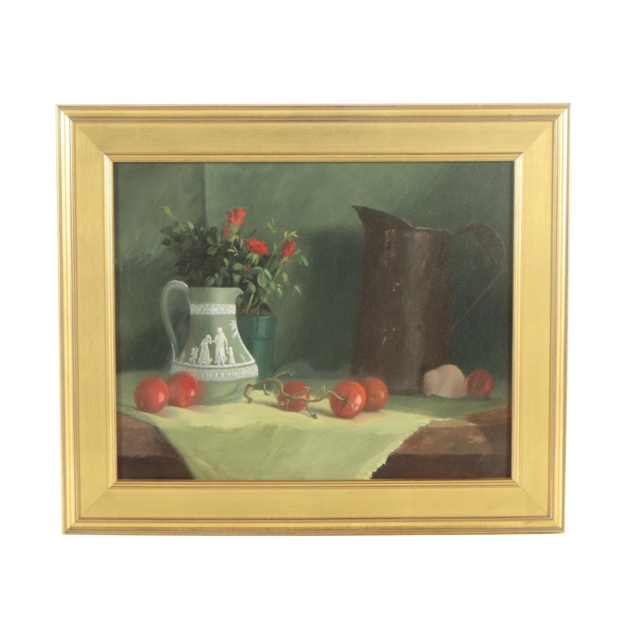 Gayle Levée Oil Painting of Still Life