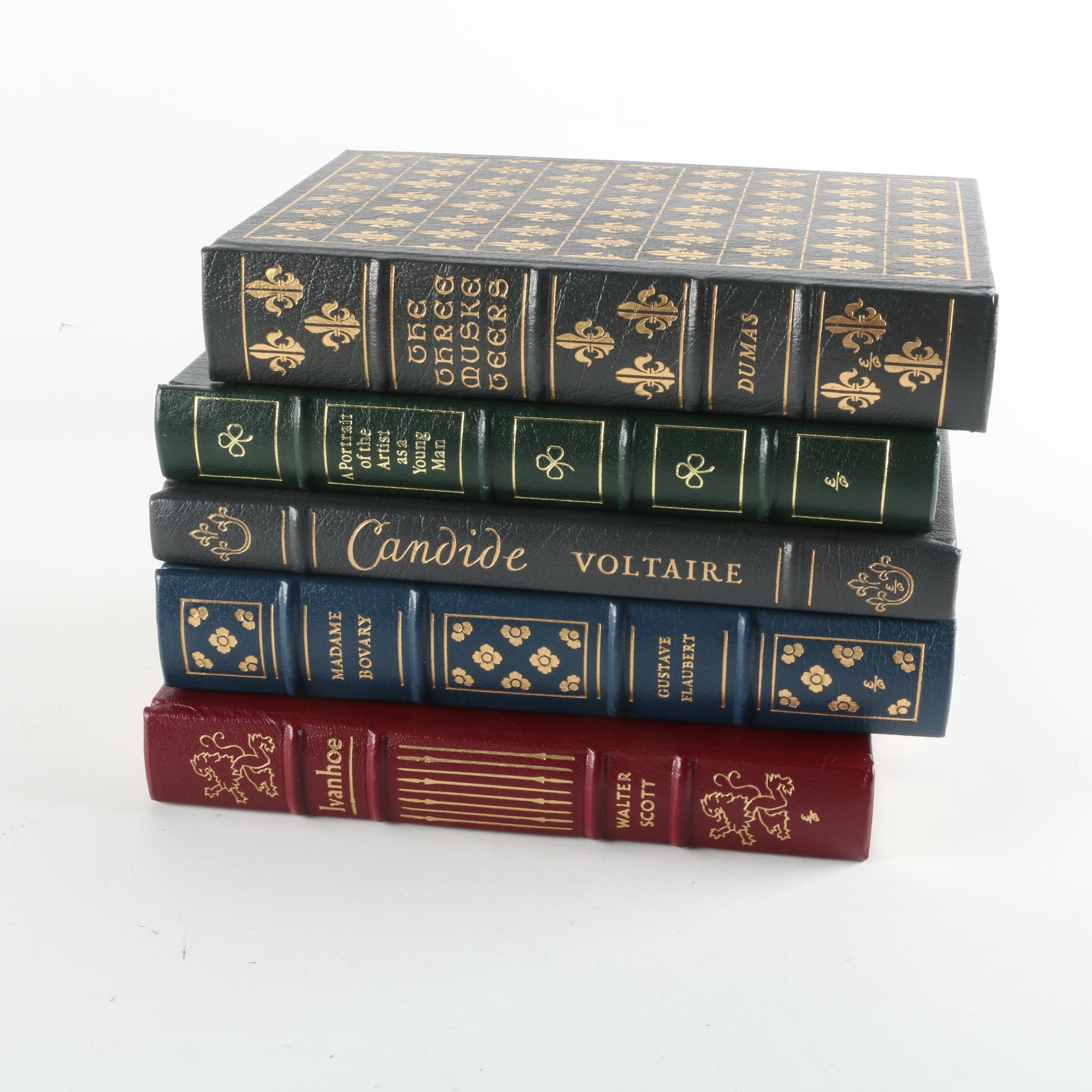 "Easton Press Leather Bound Books Including ""The Three Musketeers"""