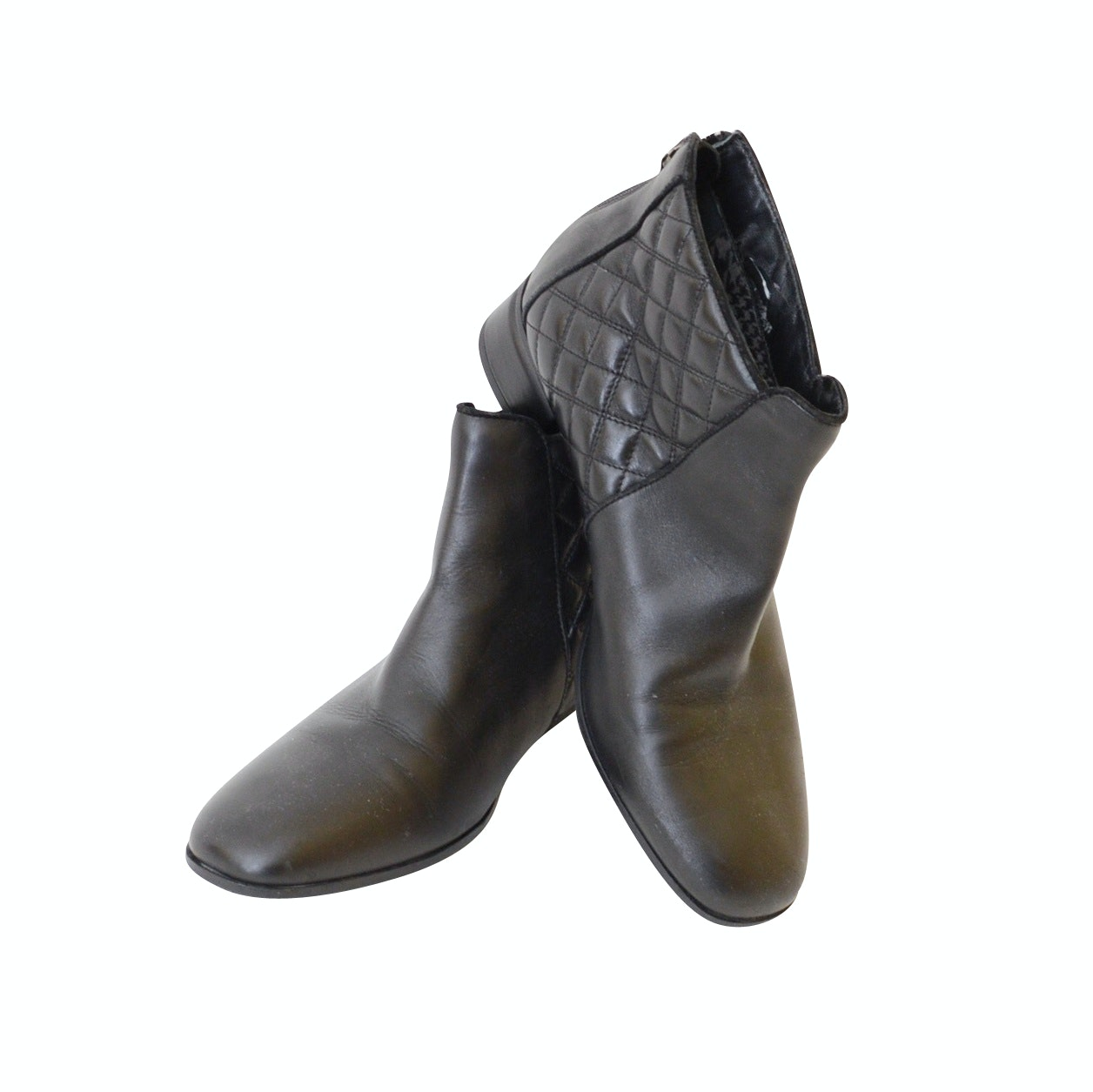 Pair of Women's Aquatalia Ankle Boots, Made in Italy