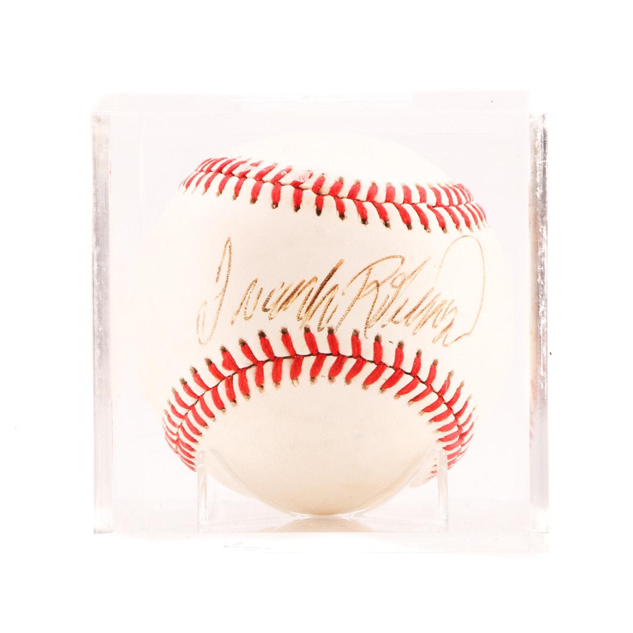 (HOF) Frank Robinson Signed Rawlings AL Baseball PSA/DNA COA