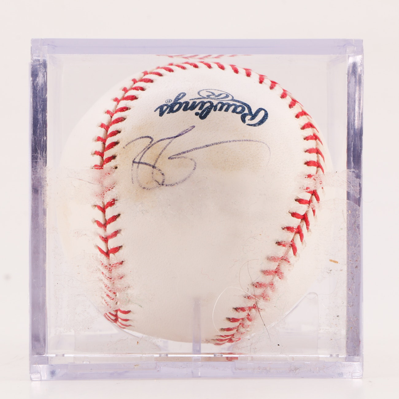 Ryan Zimmerman Washington Nationals Signed Rawlings MLB Baseball JSA