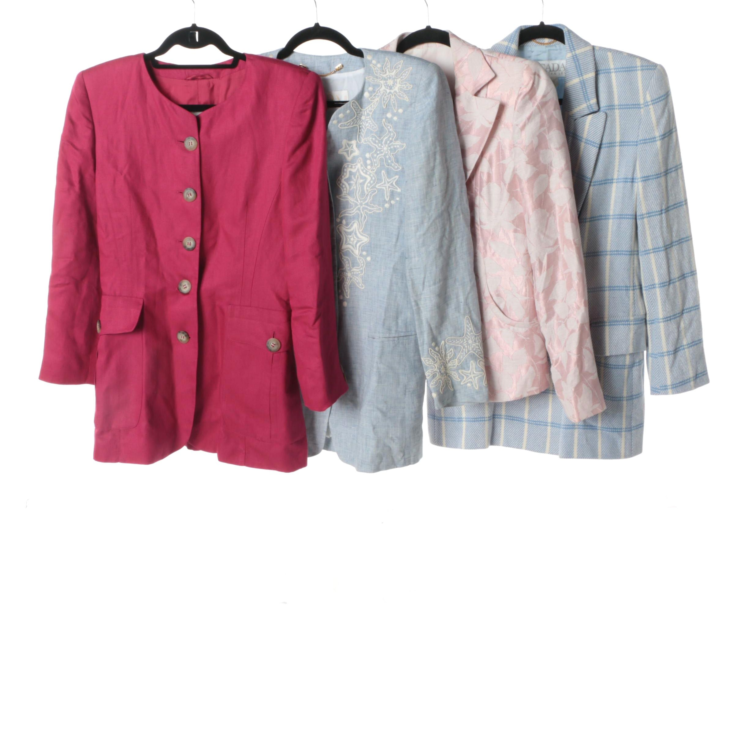 Women's Armani Collezioni, Escada Margaretha Ley and Laurèl Jackets