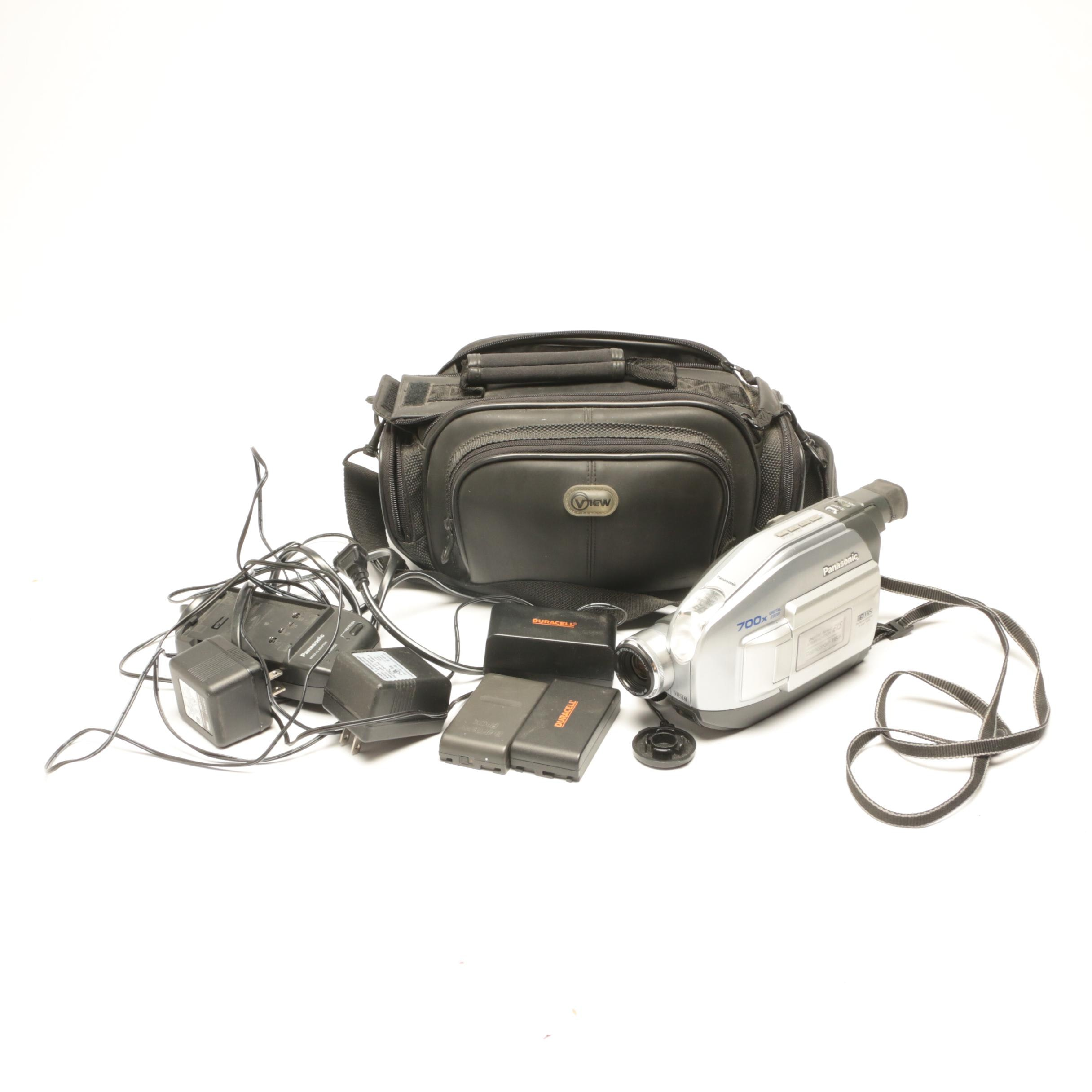 Panasonic Digital Zoom Palmcorder