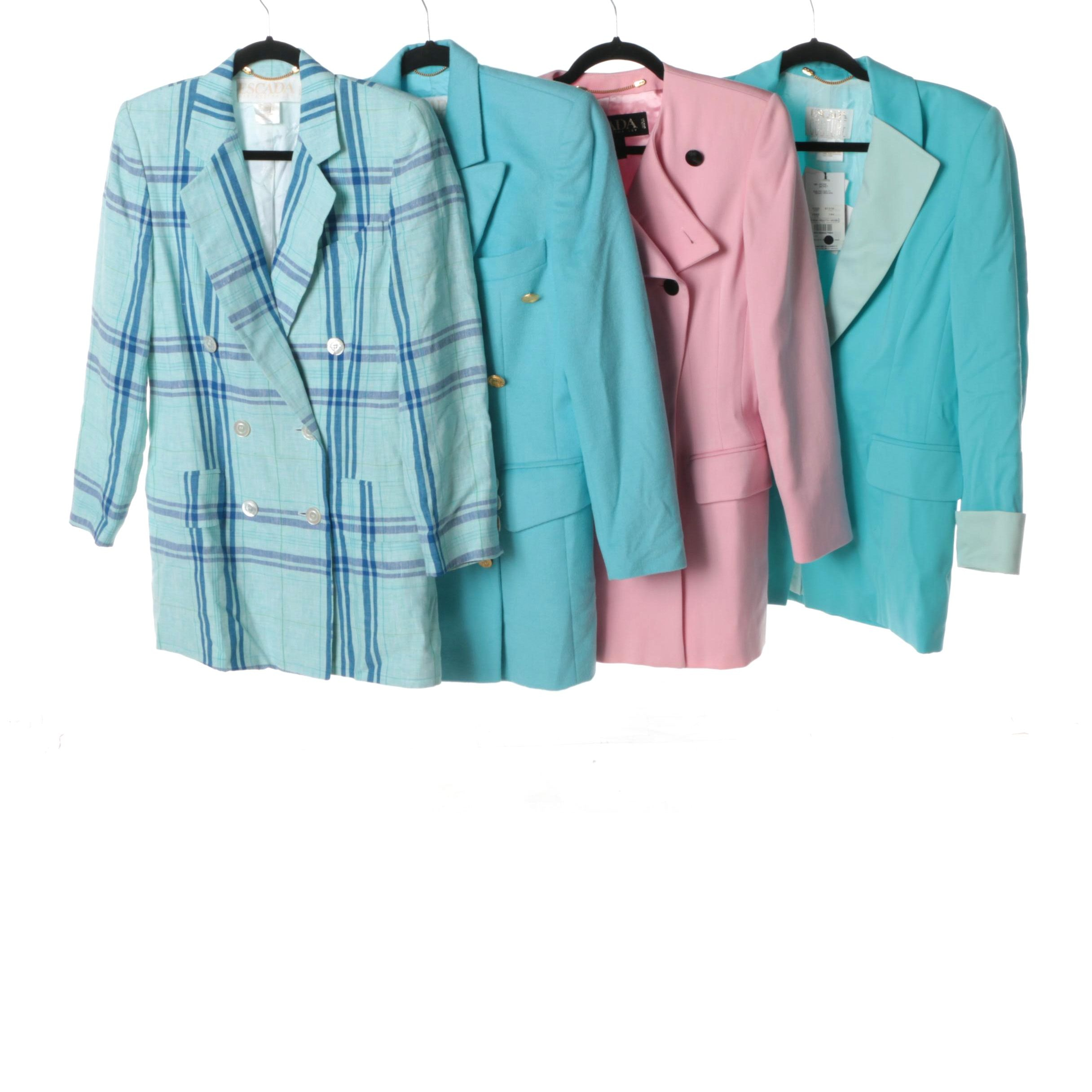 Women's Escada Brand Wool and Linen Jackets