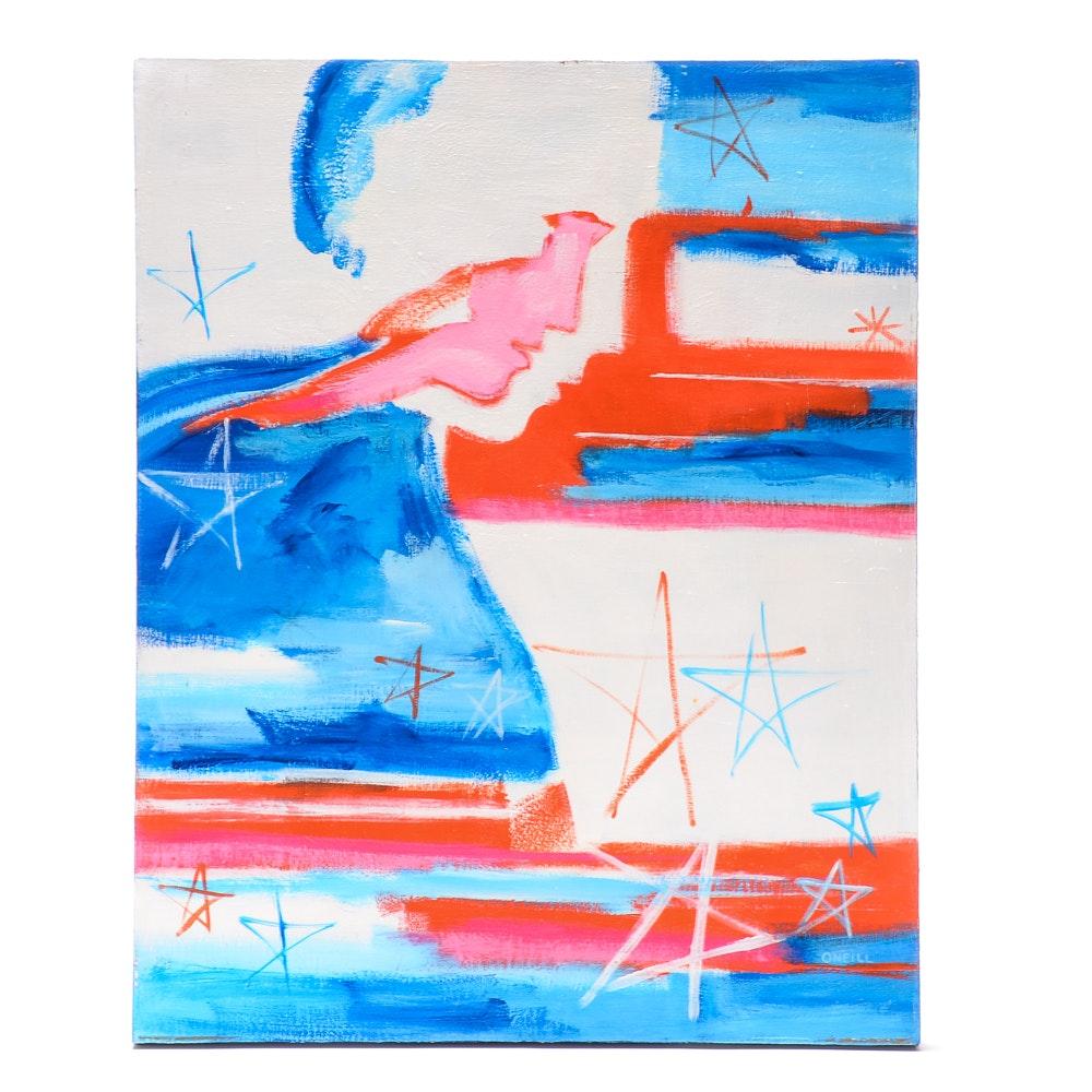 Elizabeth O'Neill Original Acrylic on Canvas