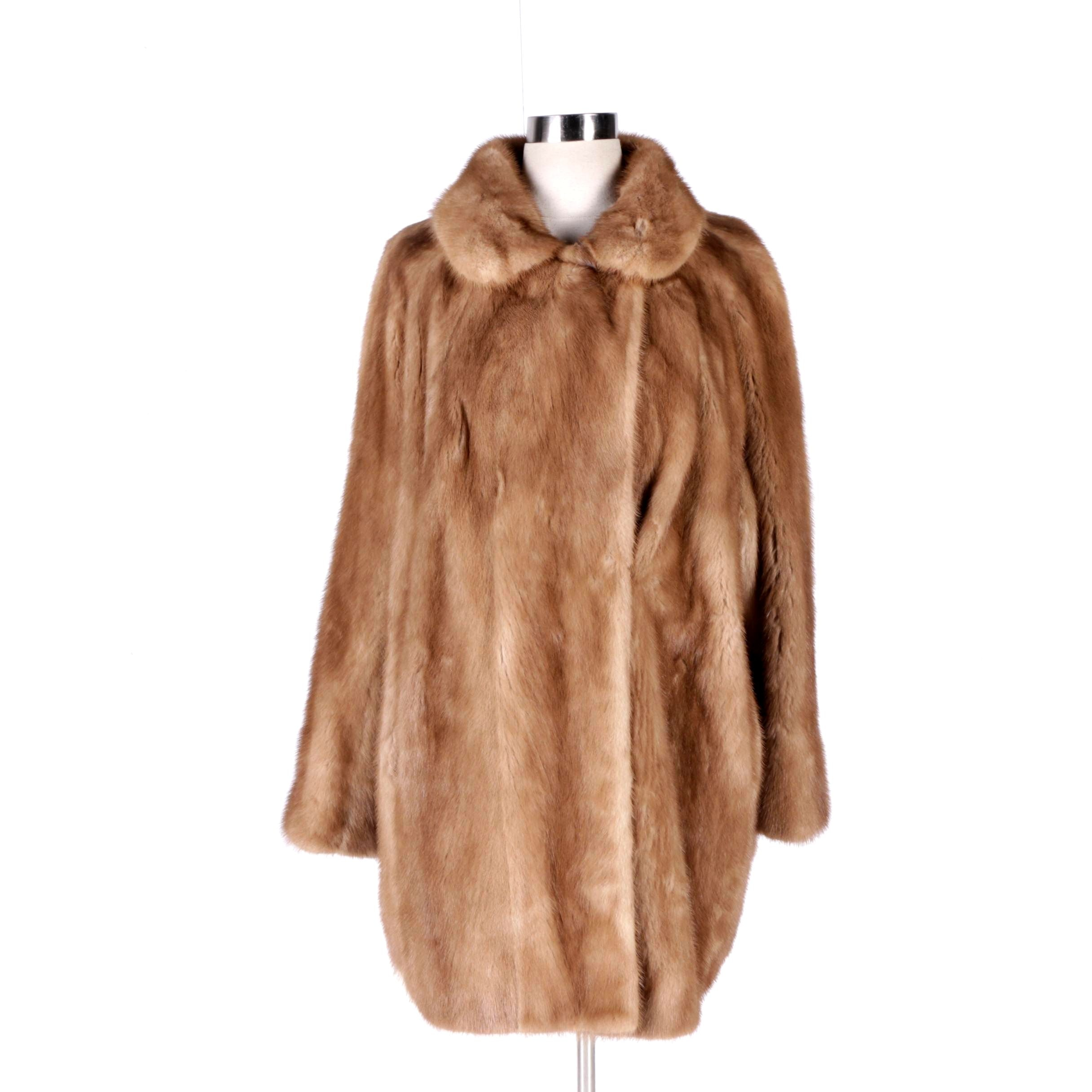 Women's Vintage Stripling's Mink Fur Coat