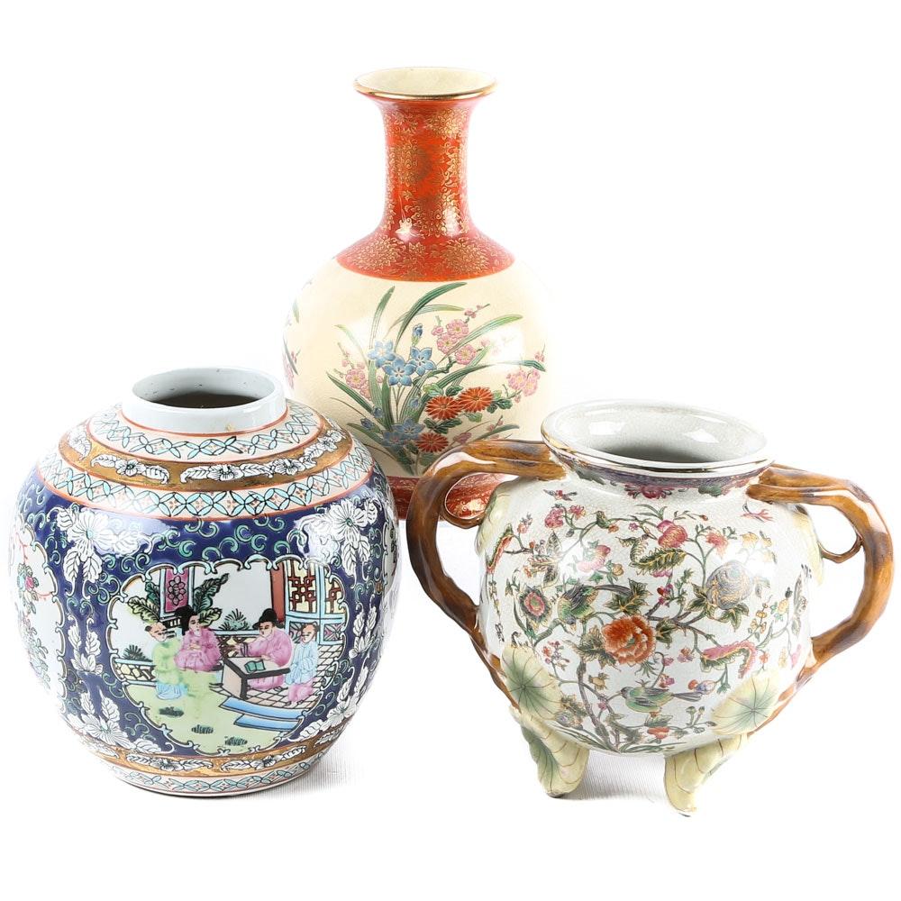 East Asian Ceramic Pottery