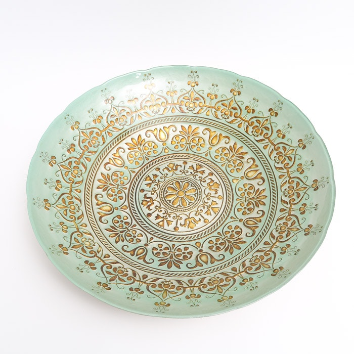 Florentine Style Decorative Centerpiece Bowl