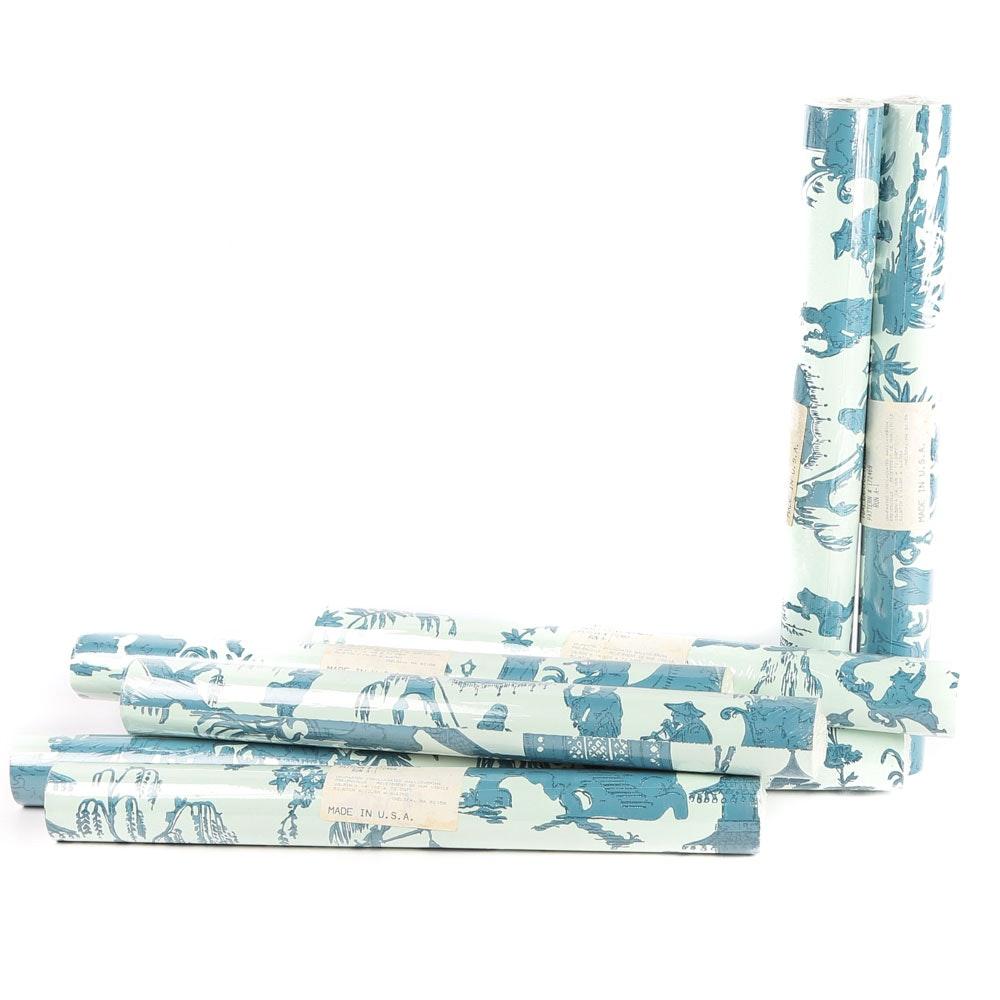 """""""Jardin Chinois"""" Wallpaper Rolls by Waterhouse"""