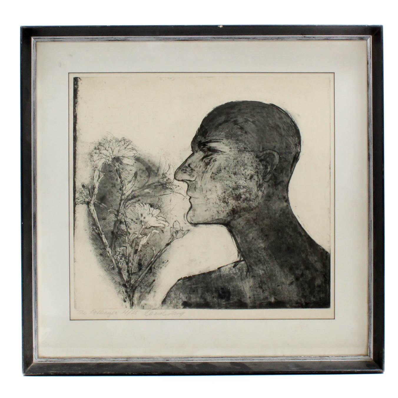 "Limited Edition Daniel Lang ""The Pollenizer"" Etching"