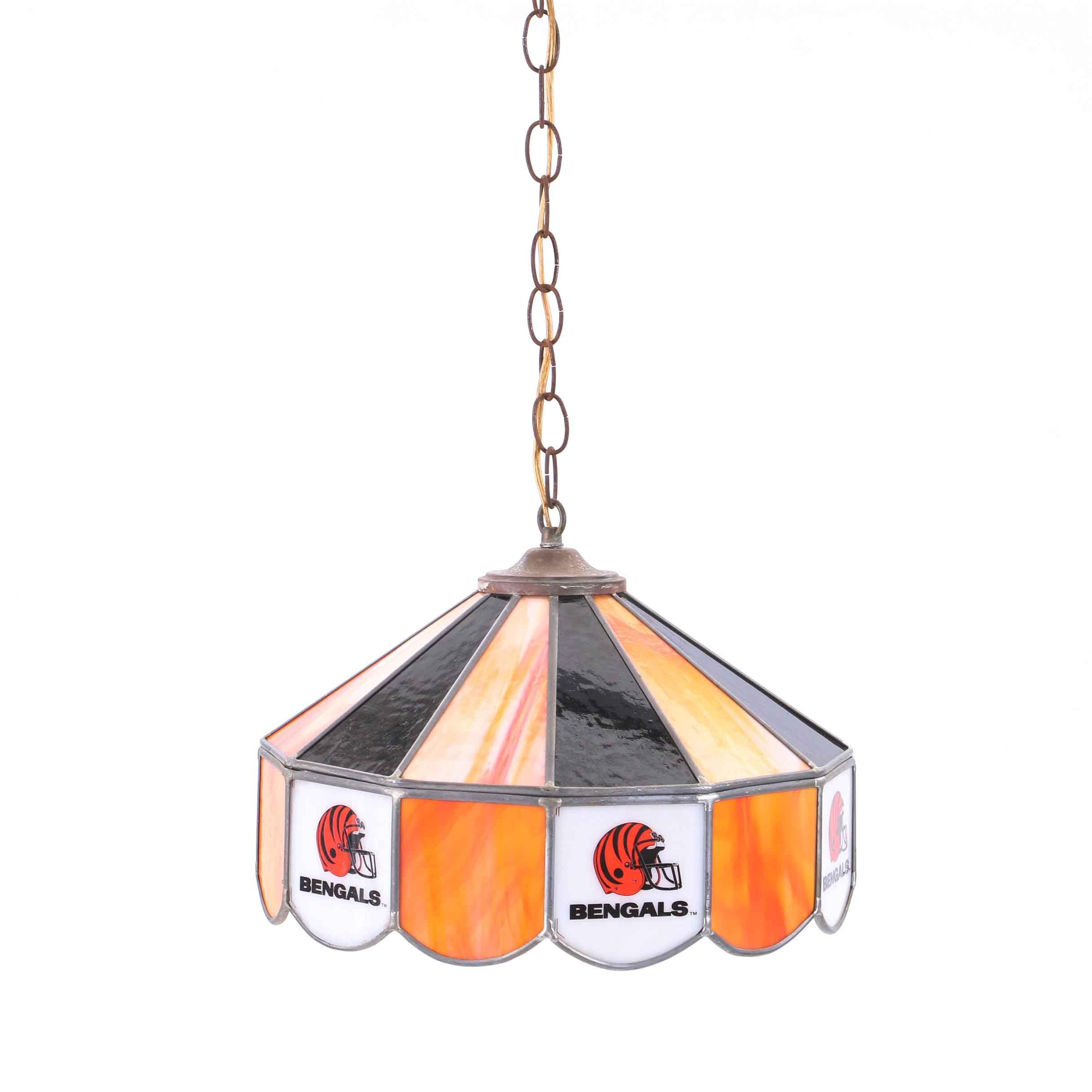 Cincinnati Bengals Pendant Pub Lamp