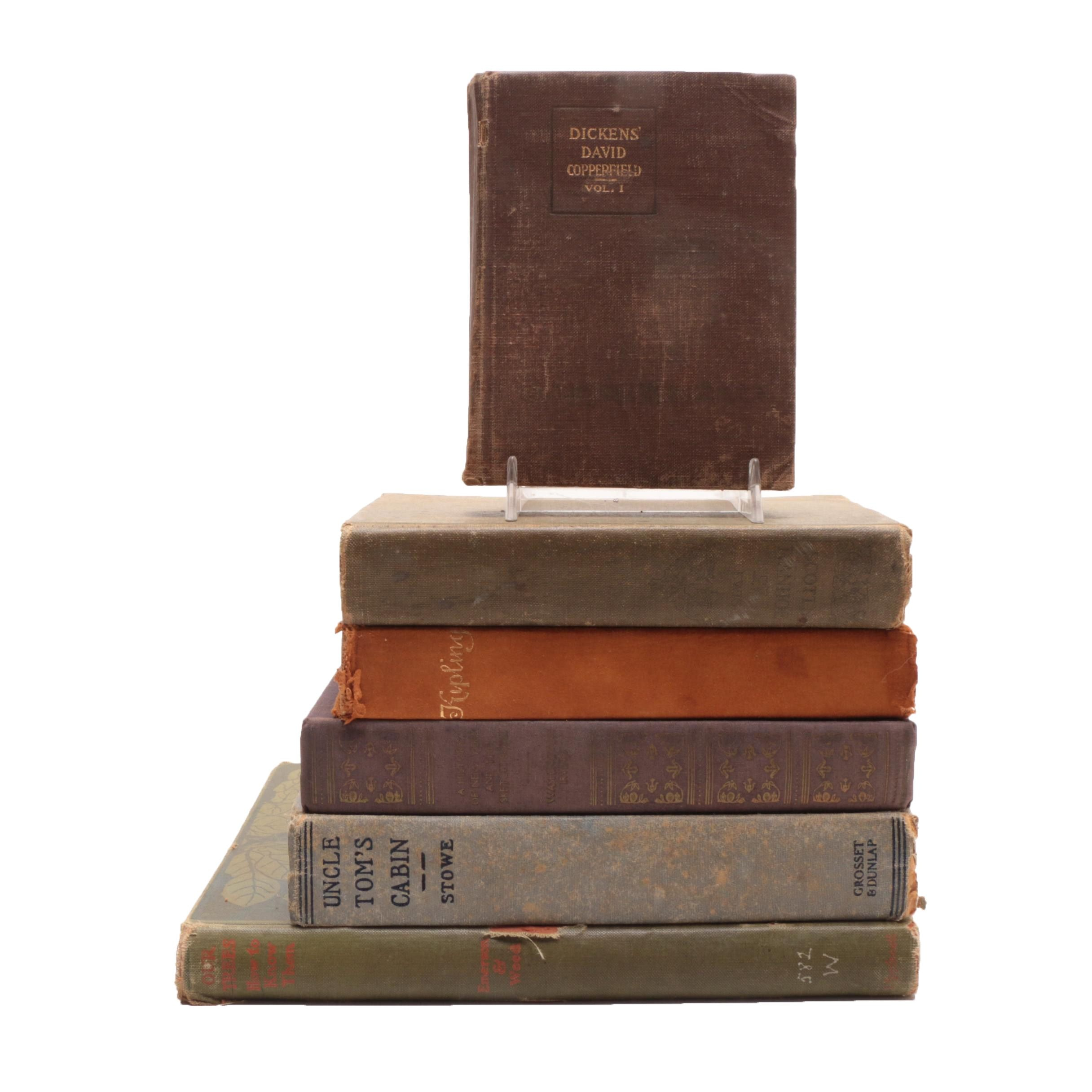 Group of Antique to Vintage Books