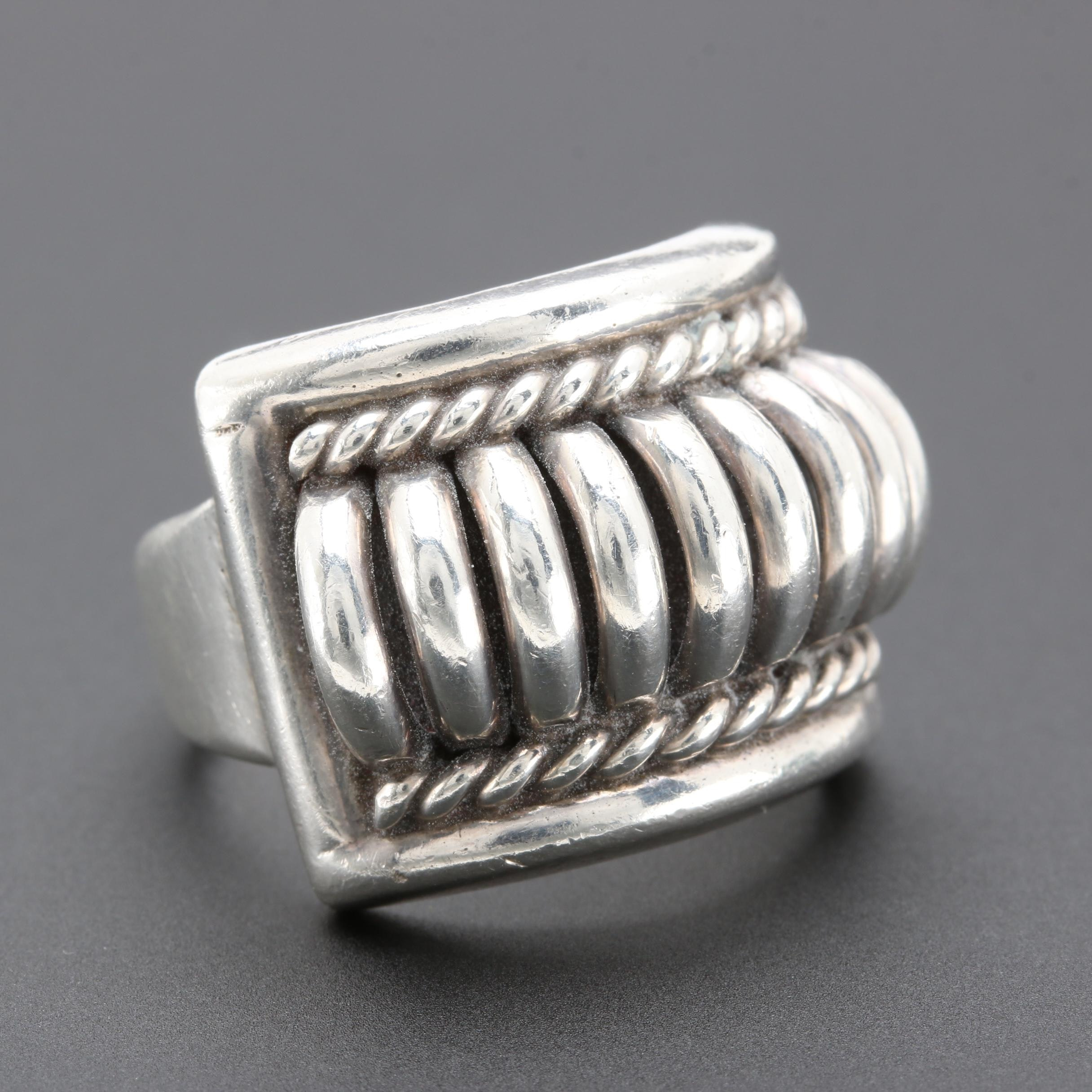Tom Charley Navajo Diné Sterling Silver Ring