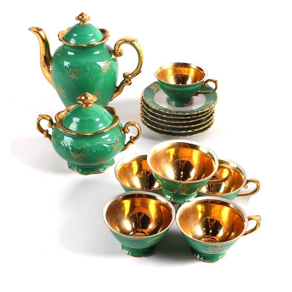 Vintage Händel Bavarian Porcelain Coffee Set