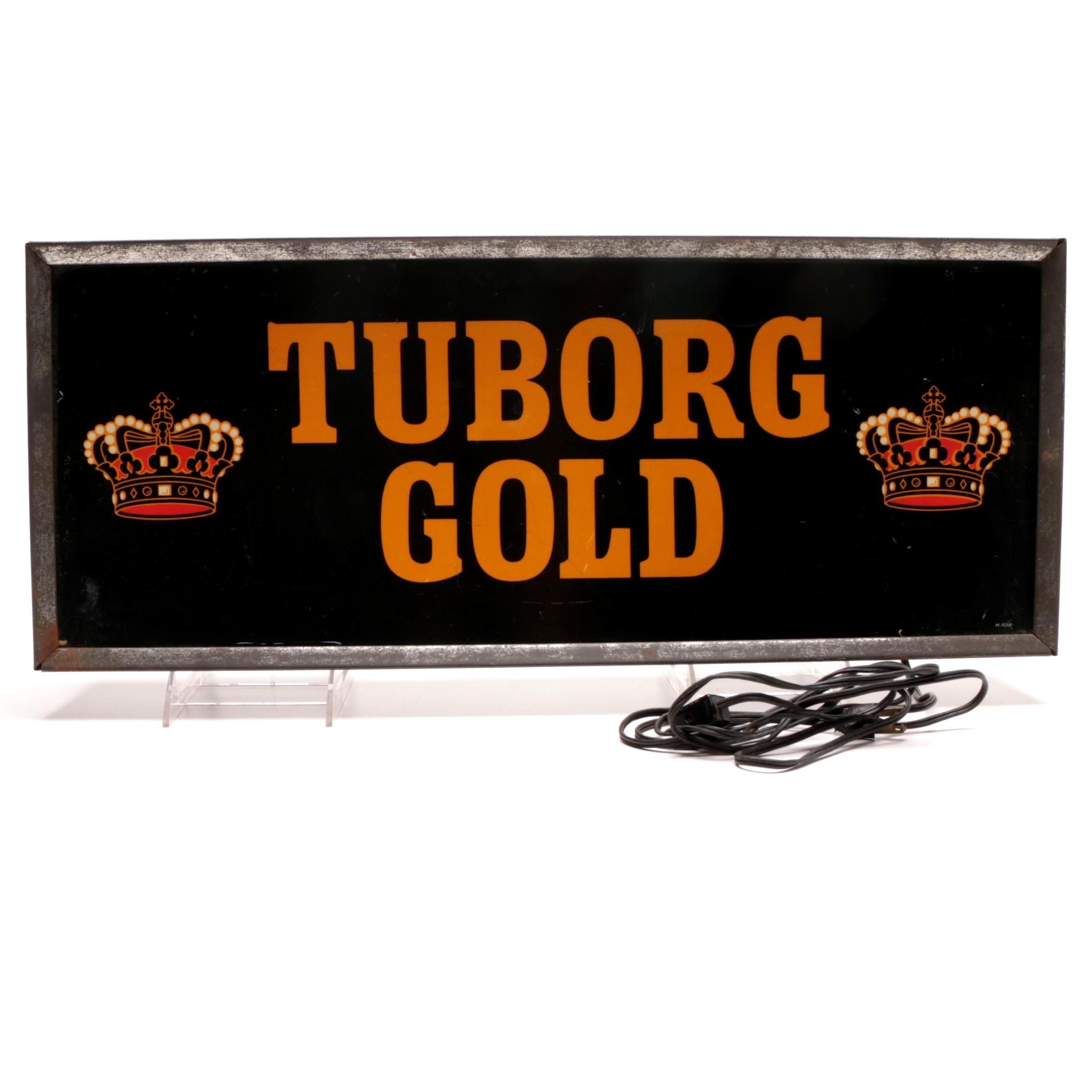 Tuborg Gold Light Up Beer Sign