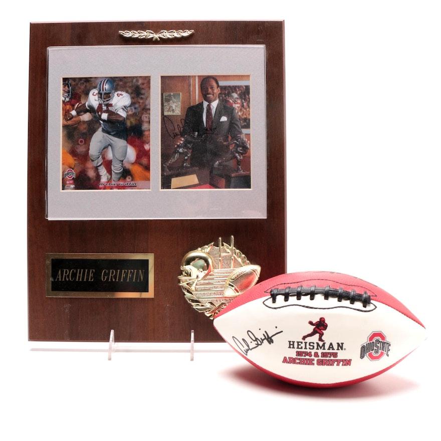 02ba8ee9c Heisman Trophy Winner Archie Griffin Signed OSU Memorabilia   EBTH