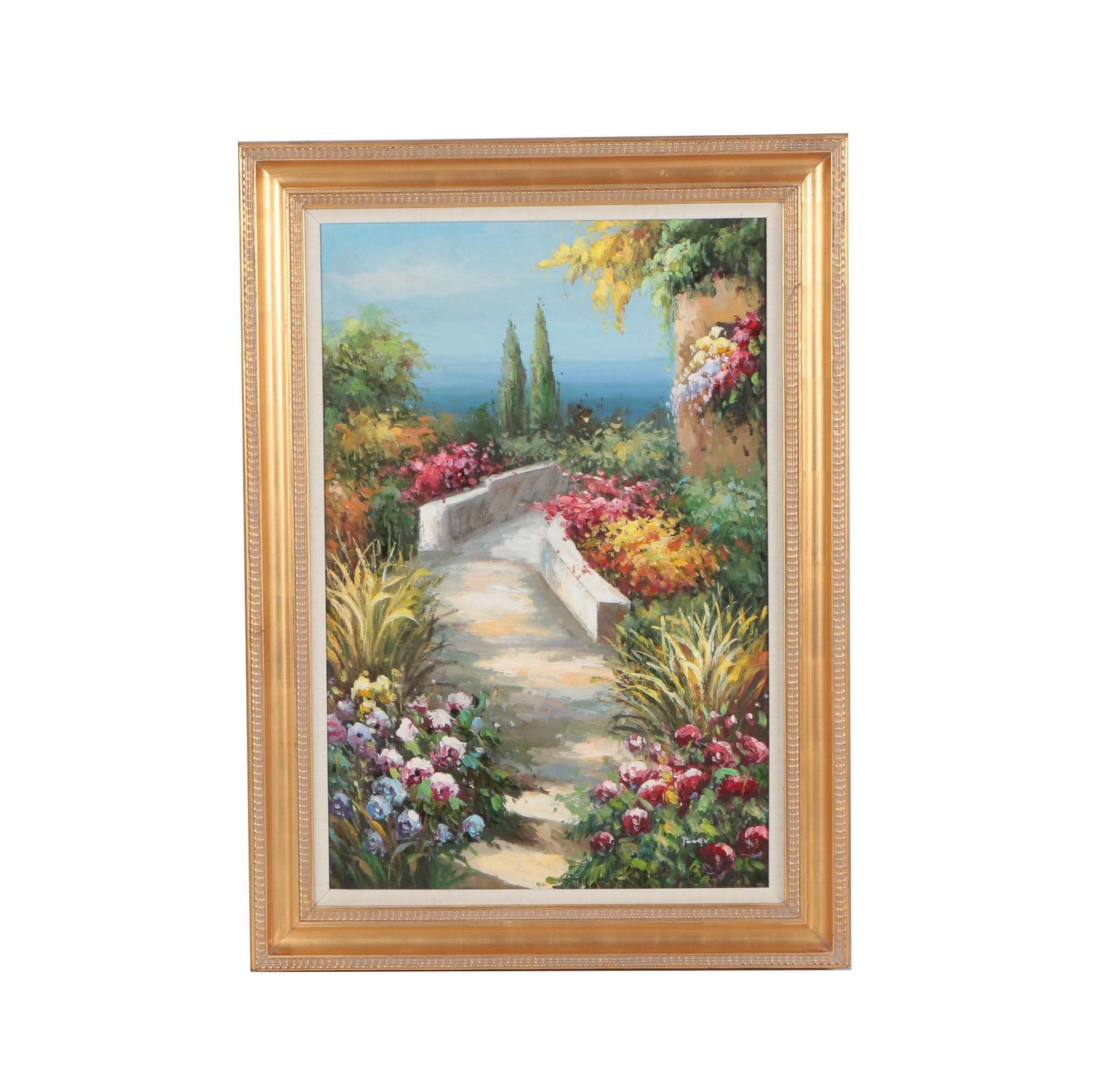 Peter Landscape Oil Painting