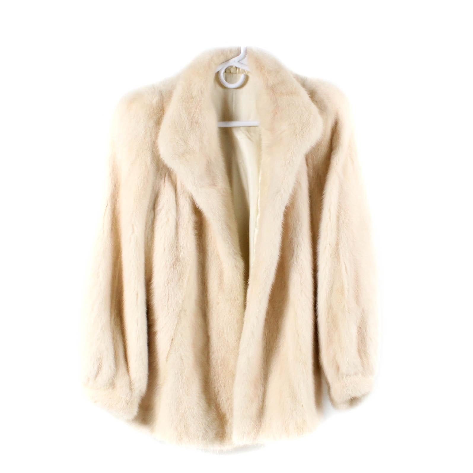 Tourmaline Mink Fur Jacket