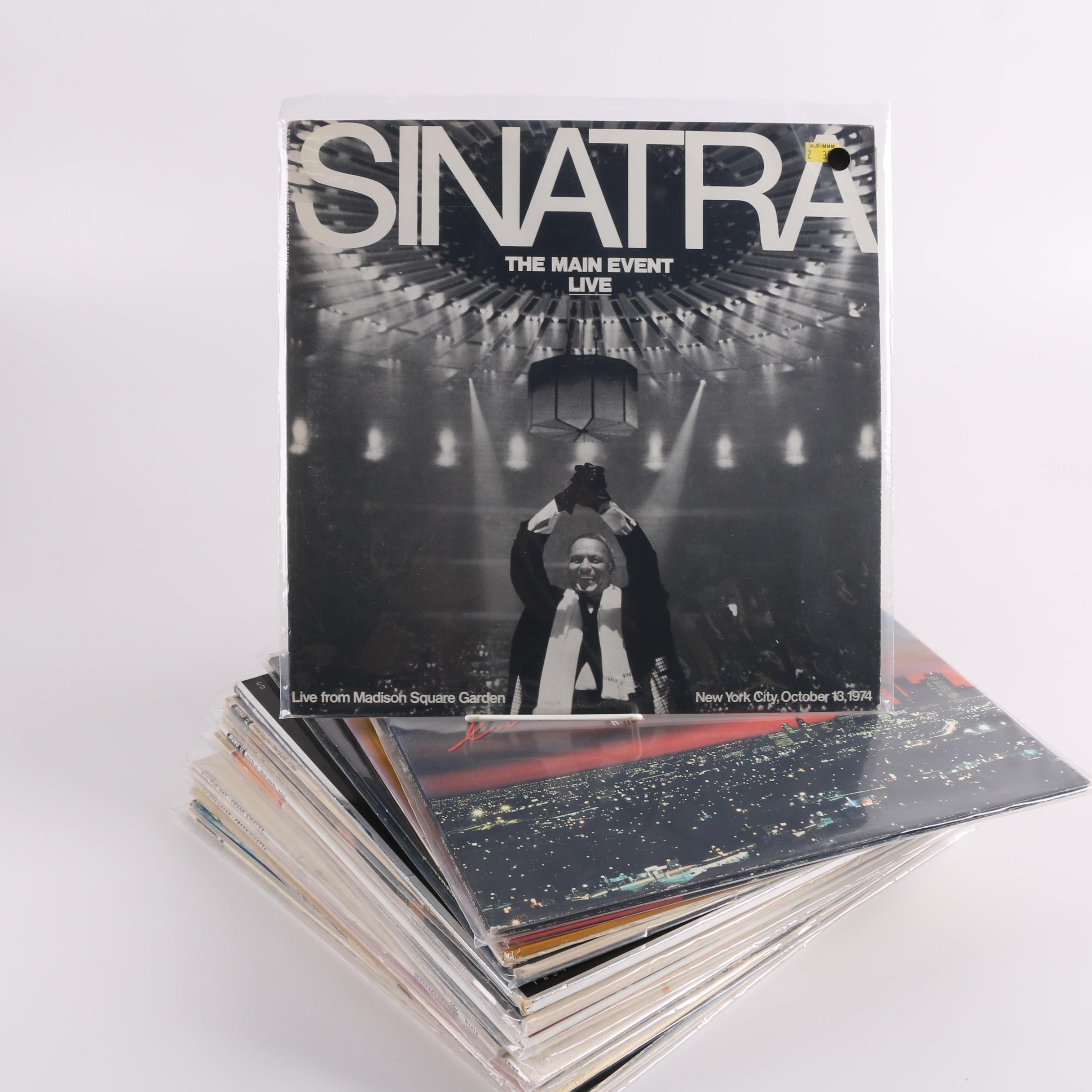 """Vintage Frank Sinatra Records Including """"That's Life"""" and """"Nice 'n' Easy"""""""