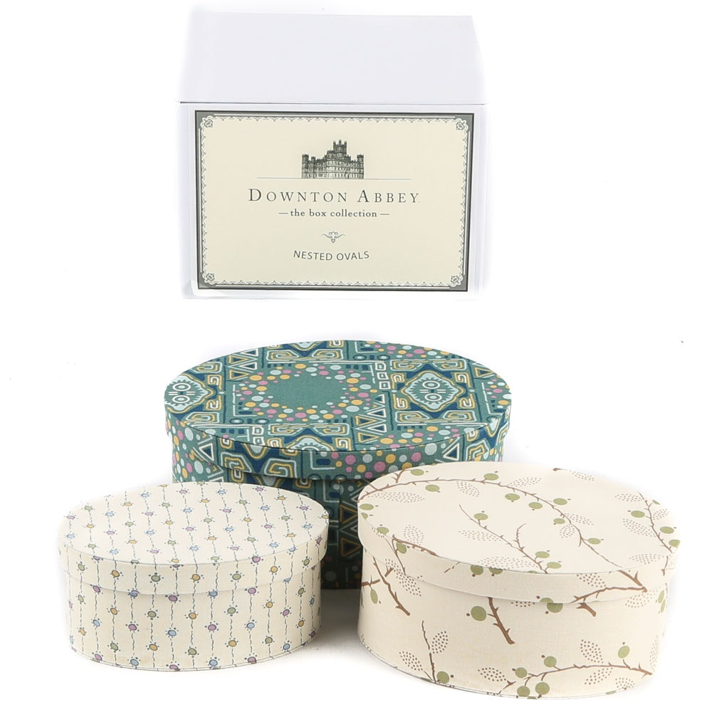 Downton Abbey Oval Nesting Boxes